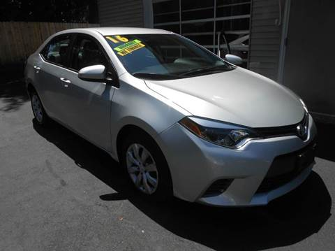 2016 Toyota Corolla for sale in Lincoln, RI