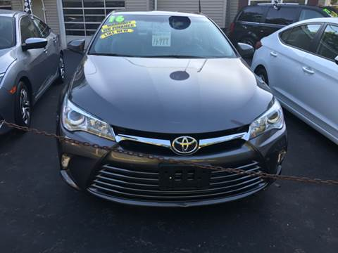 2016 Toyota Camry for sale in Lincoln, RI