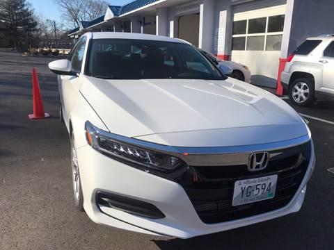 2019 Honda Accord for sale in Lincoln, RI