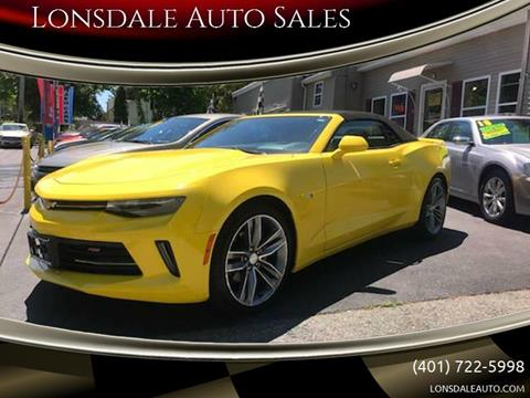 2018 Chevrolet Camaro for sale in Lincoln, RI