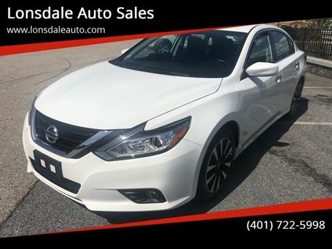 2018 Nissan Altima for sale in Lincoln, RI