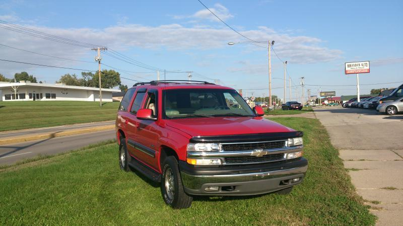 2001 Chevrolet Tahoe 1500 In Cedar Rapids Ia Absolute Used Cars