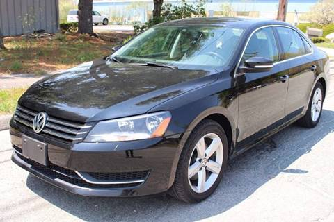 2013 Volkswagen Passat for sale at Imotobank in Walpole MA