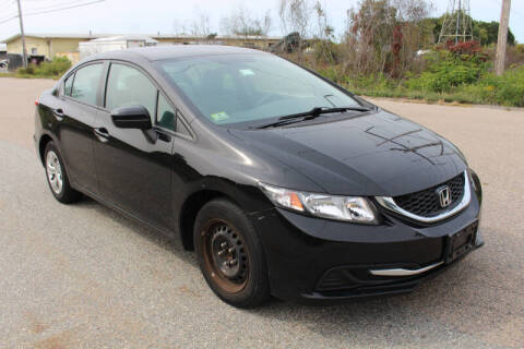 2015 Honda Civic for sale at Imotobank in Walpole MA