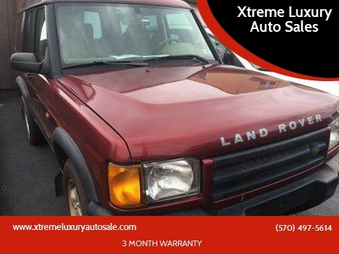 2001 Land Rover Discovery Series II for sale in Hazle Township, PA
