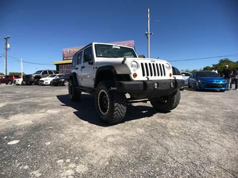 2010 Jeep Wrangler Unlimited for sale in San Antonio,, TX
