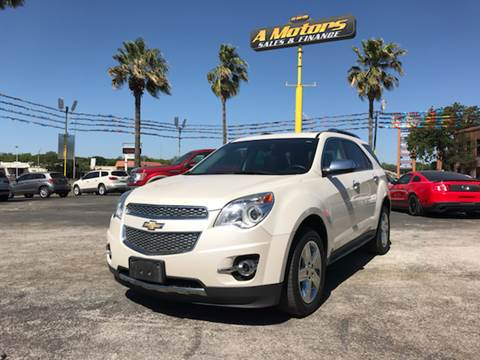 2015 Chevrolet Equinox for sale at A MOTORS SALES AND FINANCE - 5630 San Pedro Ave in San Antonio TX
