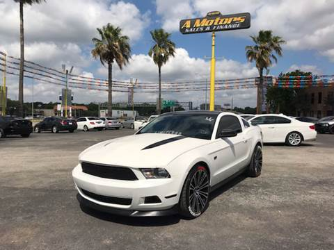 2011 Ford Mustang for sale at A MOTORS SALES AND FINANCE in San Antonio TX