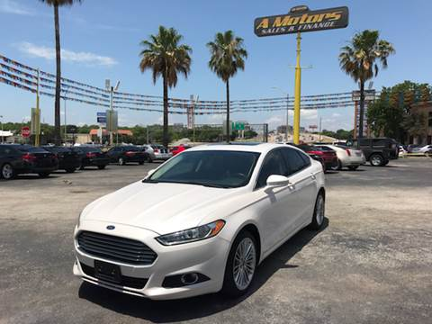2014 Ford Fusion for sale at A MOTORS SALES AND FINANCE - 5630 San Pedro Ave in San Antonio TX