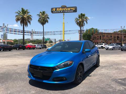 2016 Dodge Dart for sale at A MOTORS SALES AND FINANCE in San Antonio TX