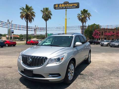 2015 Buick Enclave for sale at A MOTORS SALES AND FINANCE in San Antonio TX