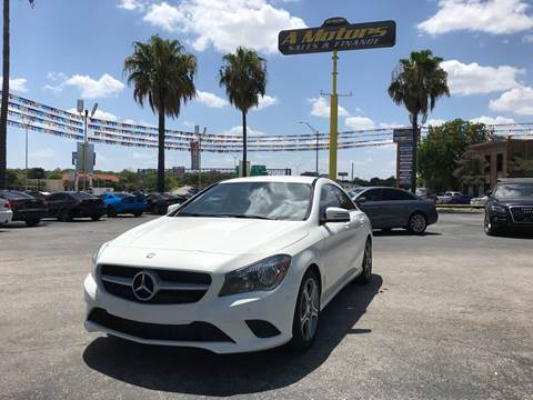 2014 Mercedes-Benz CLA for sale at A MOTORS SALES AND FINANCE in San Antonio TX