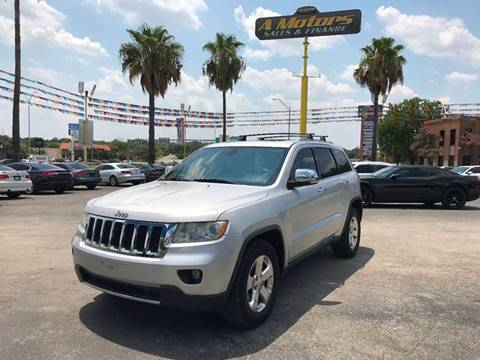 2011 Jeep Grand Cherokee for sale at A MOTORS SALES AND FINANCE in San Antonio TX