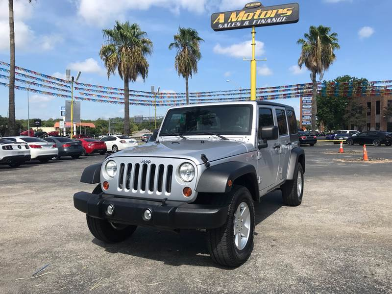 2011 Jeep Wrangler Unlimited for sale at A MOTORS SALES AND FINANCE in San Antonio TX