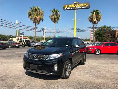 2015 Kia Sorento for sale at A MOTORS SALES AND FINANCE in San Antonio TX