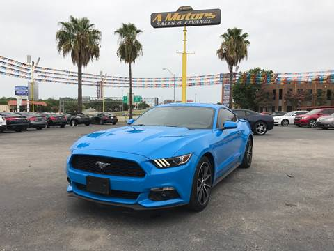 2017 Ford Mustang for sale at A MOTORS SALES AND FINANCE - 5630 San Pedro Ave in San Antonio TX