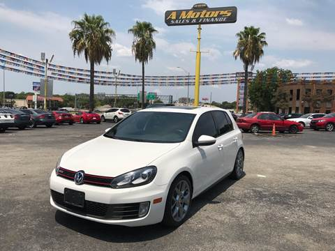 2013 Volkswagen GTI for sale at A MOTORS SALES AND FINANCE in San Antonio TX
