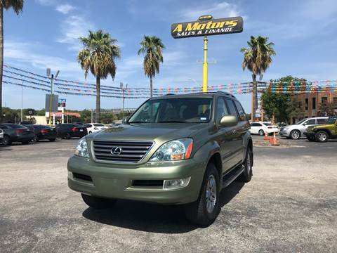 2008 Lexus GX 470 for sale at A MOTORS SALES AND FINANCE in San Antonio TX