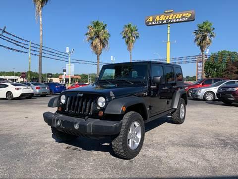 2012 Jeep Wrangler Unlimited for sale in San Antonio, TX