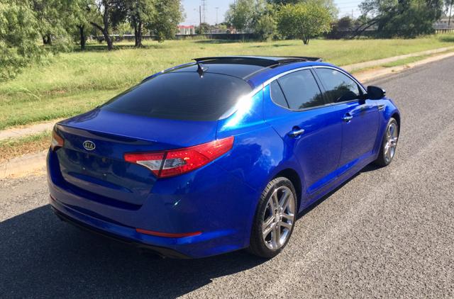 2012 Kia Optima SX Turbo 4dr Sedan 6A - San Antonio, TX