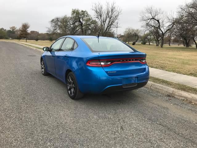 2016 Dodge Dart SE 4dr Sedan - San Antonio, TX