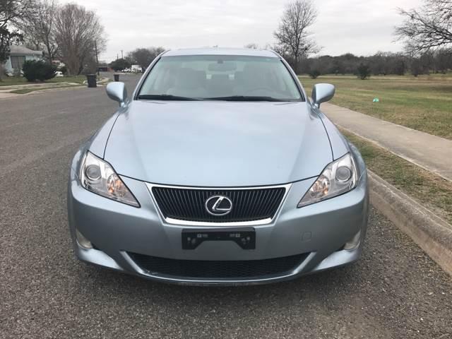 2007 Lexus IS 250 4dr Sedan (2.5L V6 6A) - San Antonio, TX