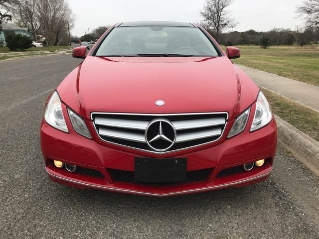 2011 Mercedes-Benz E-Class E 350 2dr Coupe - San Antonio, TX