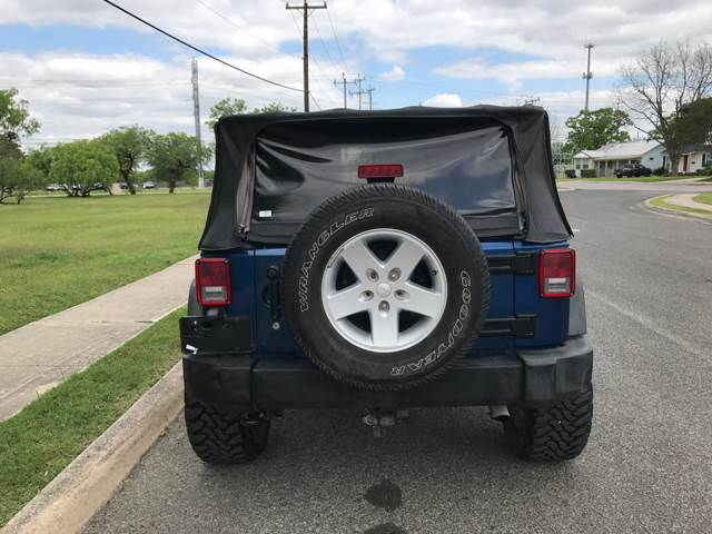 2009 Jeep Wrangler 4x4 X 2dr SUV - San Antonio, TX