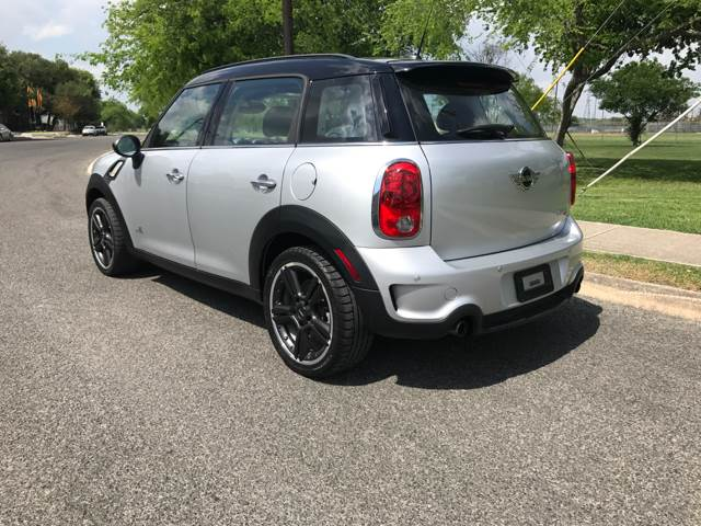 2012 MINI Cooper Countryman AWD S ALL4 4dr Crossover - San Antonio TX