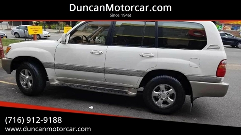 2002 Toyota Land Cruiser for sale at DuncanMotorcar.com in Buffalo NY