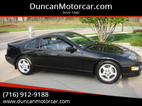 1991 Nissan 300ZX 2+2 for sale at DuncanMotorcar.com in Buffalo NY