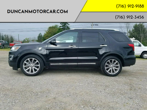 2017 Ford Explorer for sale at DuncanMotorcar.com in Buffalo NY