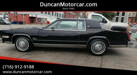 1985 Cadillac Eldorado for sale in Buffalo, NY