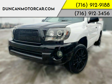 2009 Toyota Tacoma for sale at DuncanMotorcar.com in Buffalo NY