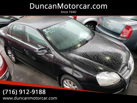 2010 Volkswagen Jetta SE PZEV for sale at DuncanMotorcar.com in Buffalo NY