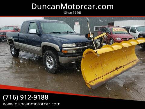 2000 Chevrolet Silverado 2500 LT for sale at DuncanMotorcar.com in Buffalo NY