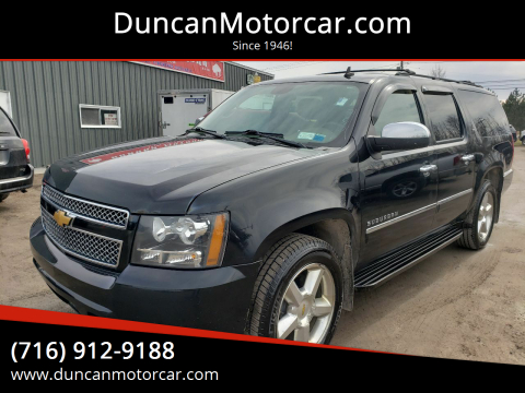 2012 Chevrolet Suburban LTZ 1500 for sale at DuncanMotorcar.com in Buffalo NY