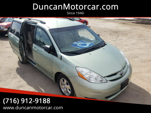 2008 Toyota Sienna LE 8-Passenger for sale at DuncanMotorcar.com in Buffalo NY