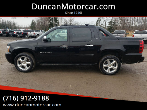 2012 Chevrolet Avalanche LT for sale at DuncanMotorcar.com in Buffalo NY
