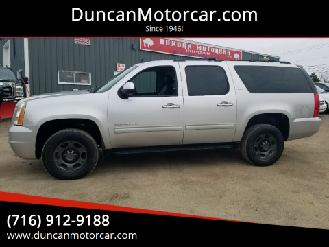 2010 GMC Yukon XL SLT 2500 for sale at DuncanMotorcar.com in Buffalo NY