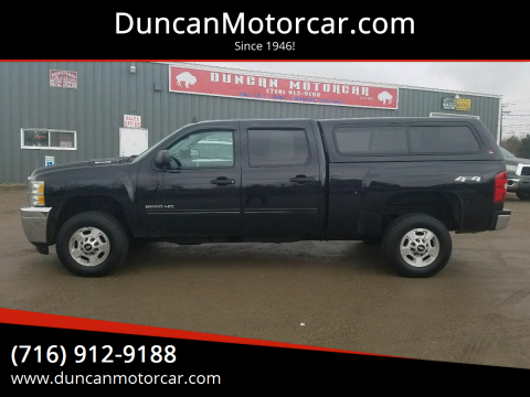 2012 Chevrolet Silverado 2500HD LT for sale at DuncanMotorcar.com in Buffalo NY