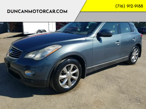 2008 Infiniti EX35 for sale at DuncanMotorcar.com in Buffalo NY