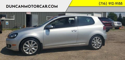 2010 Volkswagen Golf for sale at DuncanMotorcar.com in Buffalo NY