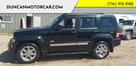 2012 Jeep Liberty for sale at DuncanMotorcar.com in Buffalo NY