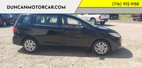 2015 Mazda MAZDA5 for sale at DuncanMotorcar.com in Buffalo NY