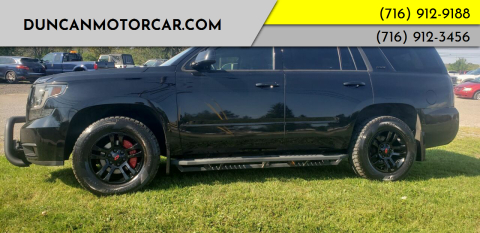 2015 Chevrolet Tahoe for sale at DuncanMotorcar.com in Buffalo NY