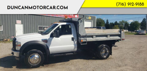 2008 Ford F-550 Super Duty for sale at DuncanMotorcar.com in Buffalo NY