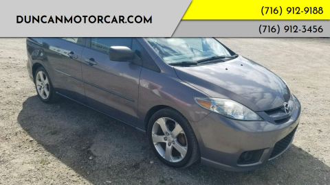 2007 Mazda MAZDA5 for sale at DuncanMotorcar.com in Buffalo NY