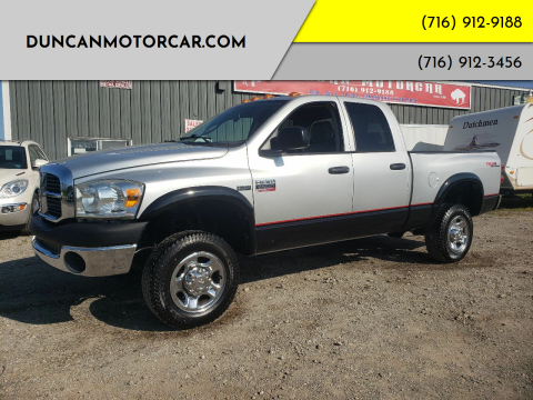 2009 Dodge Ram Pickup 2500 for sale at DuncanMotorcar.com in Buffalo NY