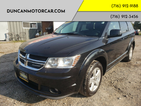 2011 Dodge Journey for sale at DuncanMotorcar.com in Buffalo NY